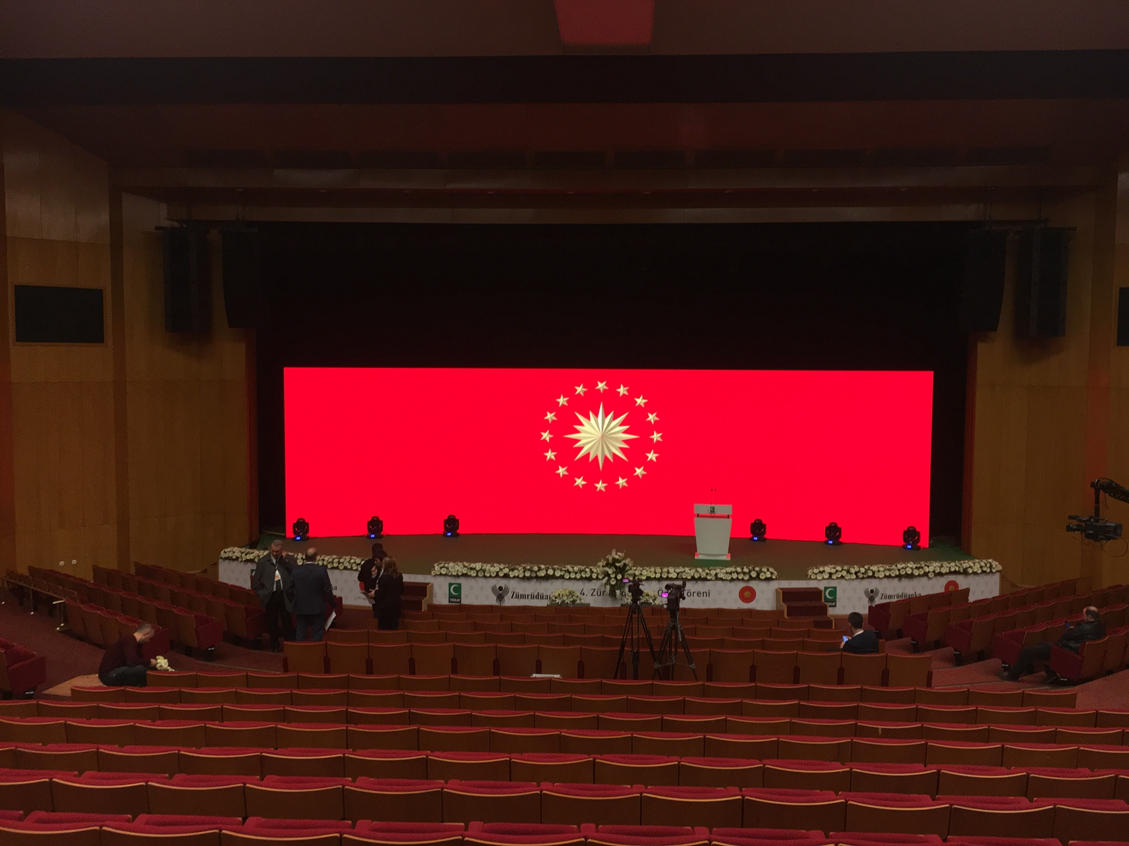 P3.9 Indoor LED Screen For Conference