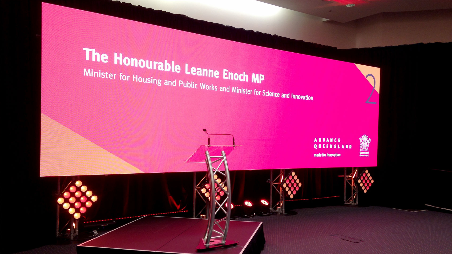 P3.9 Indoor Event Rental LED Screen For Conference
