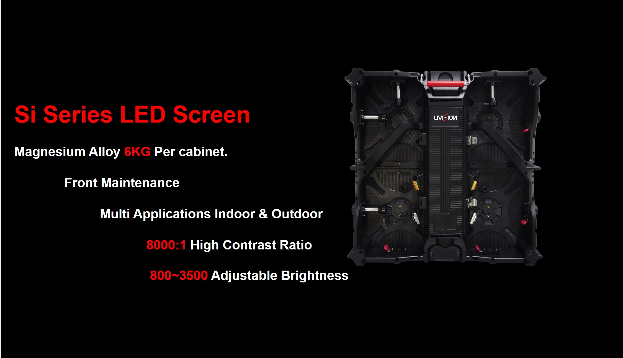 Si Series Indoor LED Screen