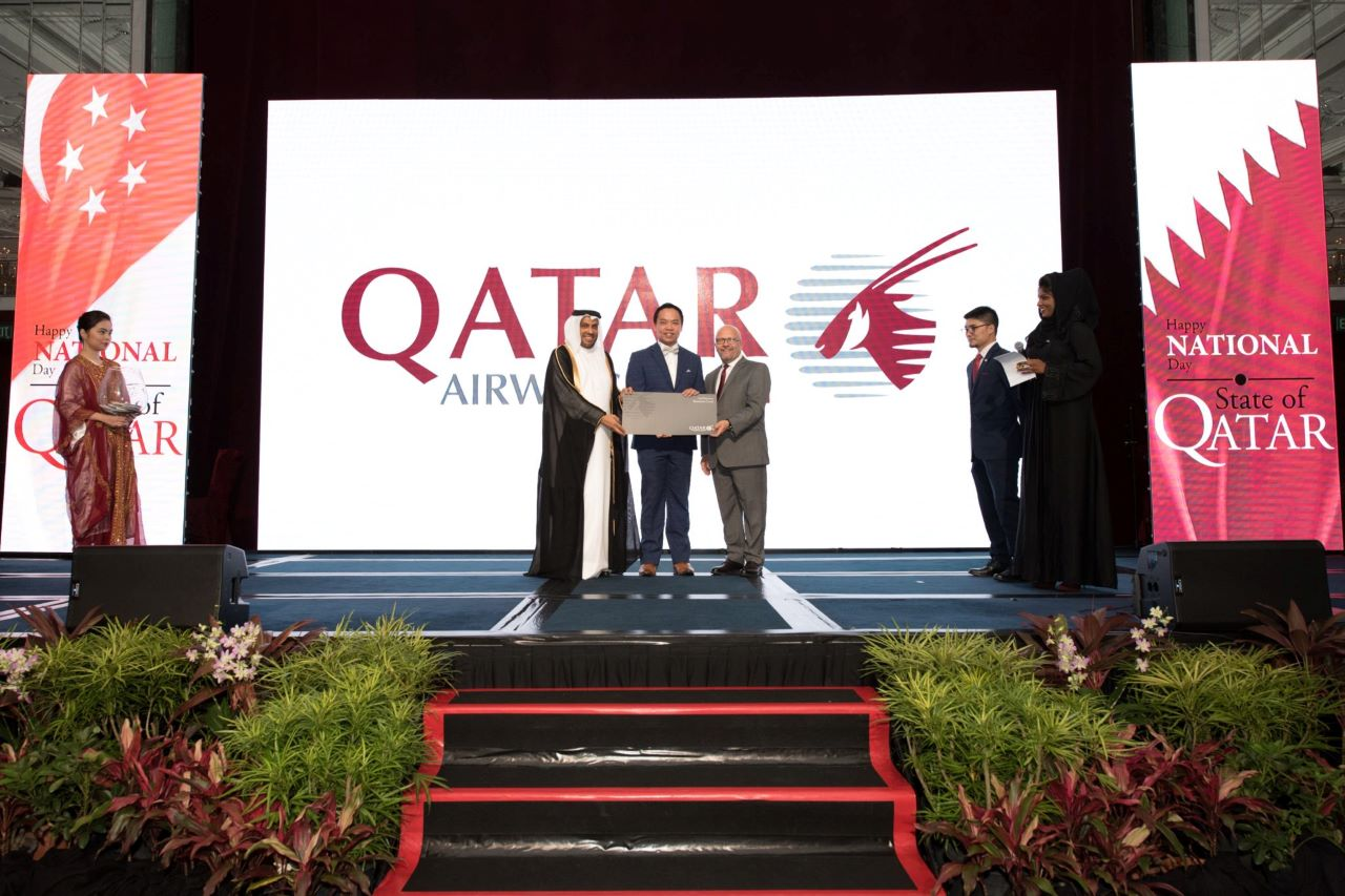 P2.6 Indoor LED Video Wall For Qatar Airline