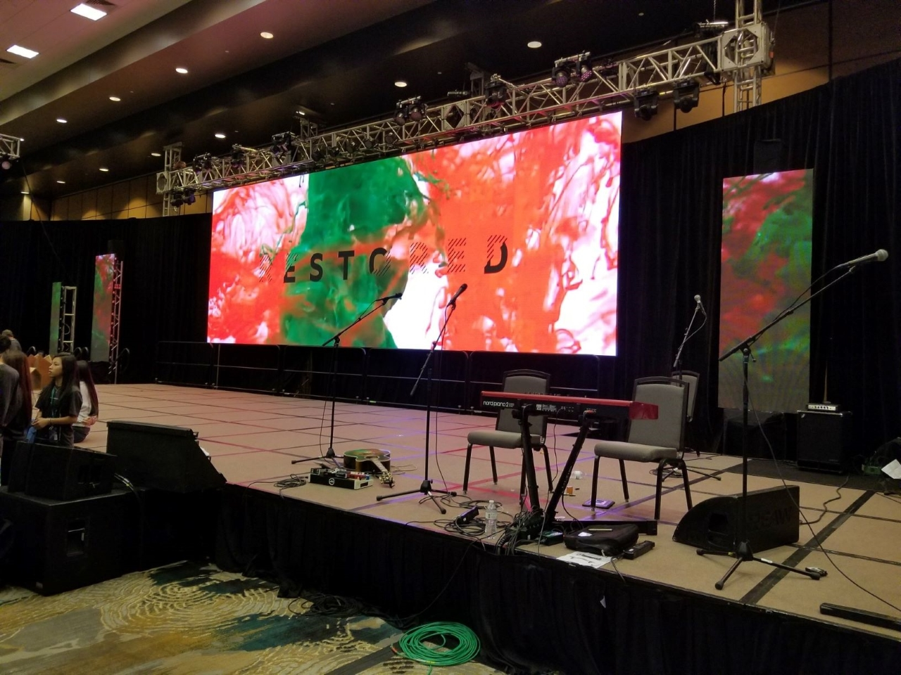 P3.9 Indoor LED Video Wall Panel  For Stage Concert
