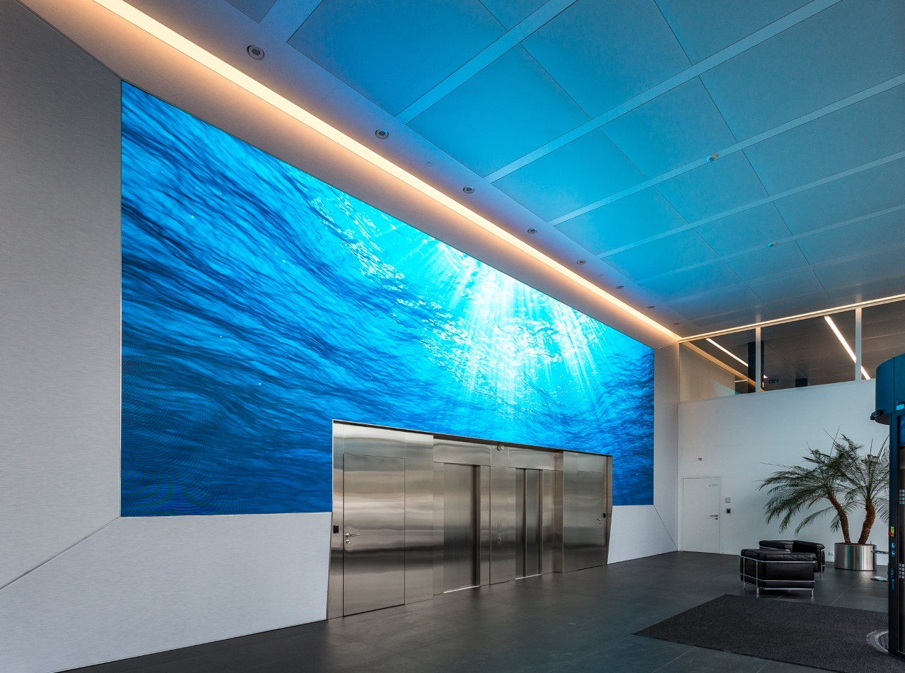P1.875 Indoor LED Video Wall In Geneva