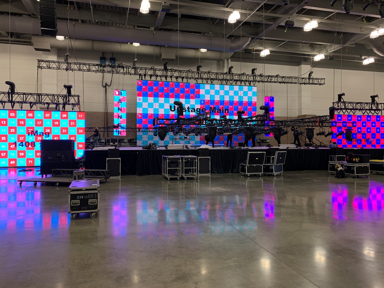 P3.9 Indoor LED Video Screen For Events