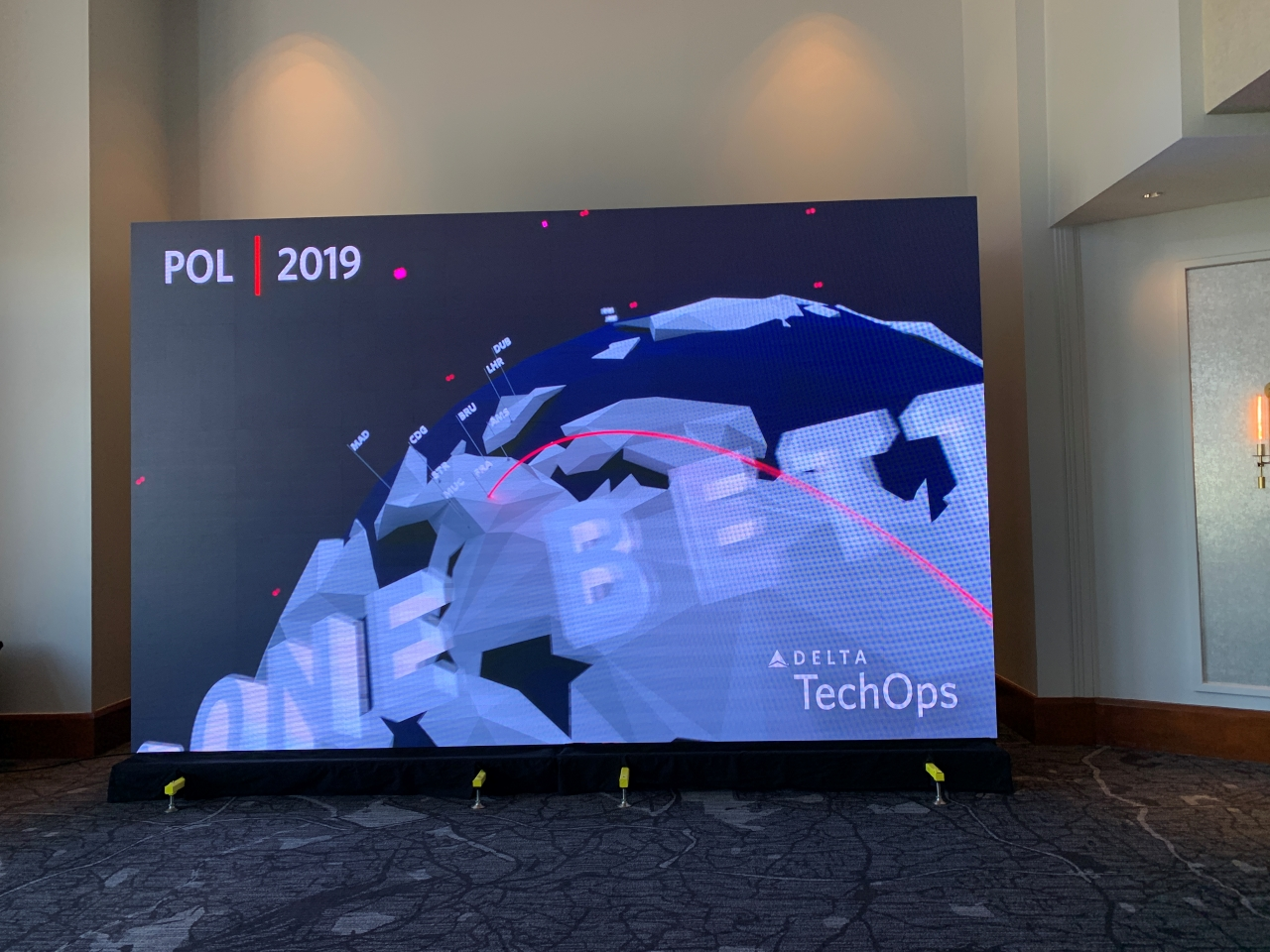 P2.6 Indoor LED Video Wall For Corporate Events