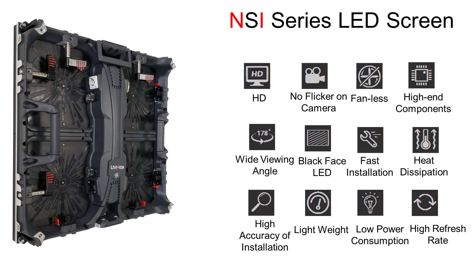 NSI Series Indoor LED Screens