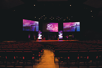 P3.9 Indoor LED Video Panel For Church
