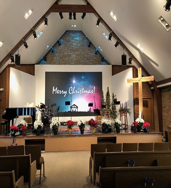 Cornerstone Church Goes Big with LED Video Panel