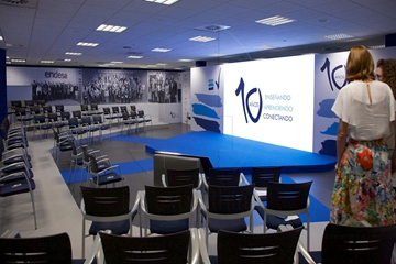 P3.9 Indoor LED Video Screen For Conferences