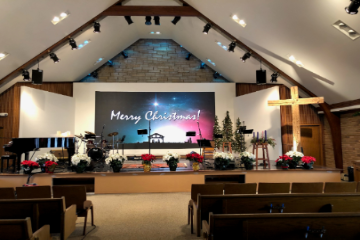 P3.9 Indoor LED Screen For Church Video Wall