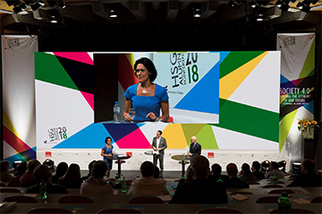 P2.9 Indoor LED Screen for Conference in Switzerland
