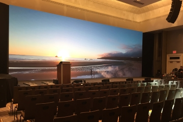 P3 Indoor LED Video Wall For Conference Room