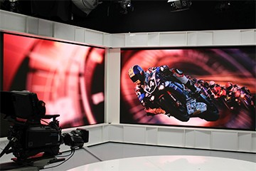 P1.875 Indoor LED Video Wall For TV Station