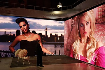 P1.56 Indoor LED Video Wall For TV Station